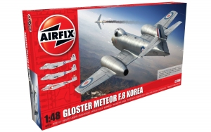Airfix A09184 Gloster Meteor F8, Korean War 1:48
