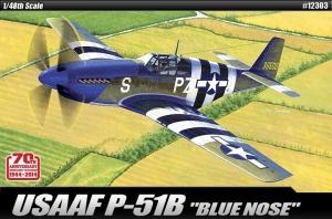 USAAF P-51B Blue Nose 1:48