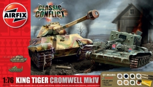 Airfix A50142 Gift Set - King Tiger + Cromwell MkIV 1:72