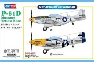 Hobby Boss 85808 P-51D Mustang - Yellow Nose 1:48