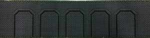 Heki 7201 Mur ceglany z arkadami H0/TT
