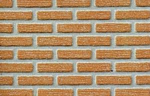 Mur z cegły klinkierowej H0 40x20 cm