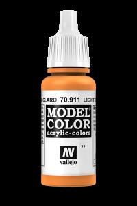 Vallejo 70911 Model Color 70911 22 Light Orange