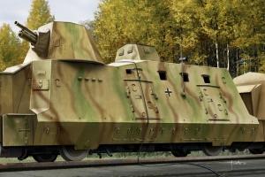 Hobby Boss 82923 Niemiecki wagon pancerny BP-42, 1:72