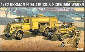 German Fuel Truck + Schwimmwagen