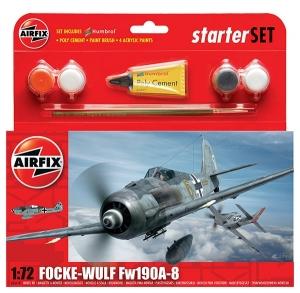Starter Set - Focke Wulf Fw190A-8 1:72