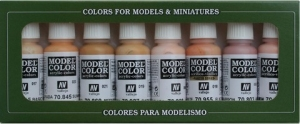 Zestaw Model Color 8 farb - Face & Skintones