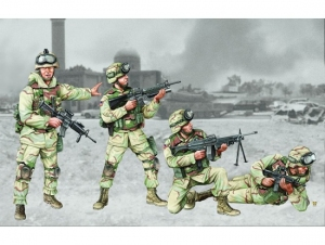 Trumpeter 00410 Figurki - US 101 Airborne Division - 1:35