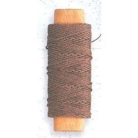 Lina bawełniana brązowa 0,50 mm, 20 m
