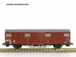 Exact-Train EX20401 Wagon towarowy kryty Glmms 61, DB, Ep. III