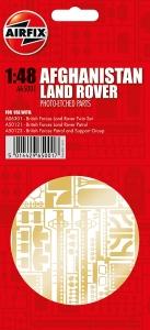 Airfix A65001 Części fototrawione - Land Rover Afghanistan 1:48