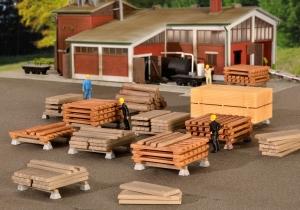 Kibri 38607 H0 Akcesoria - Drewno i deski