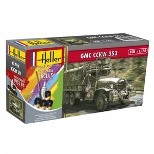 Heller 56996 Starter Set - GMC CCKW 353 1:72