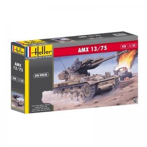 Heller 81122 Czołg AMX 13/75 - 1:35