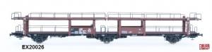 Exact-Train EX20026 Wagon do transportu samochodów Offs 55, 631 098 ABC Raster, DB, Ep. III