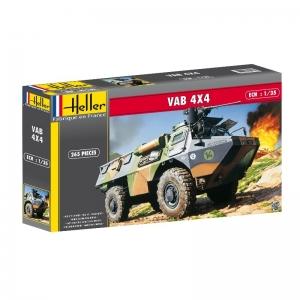 Heller 81130 Pojazd opancerzony VAB 4x4 - 1:35