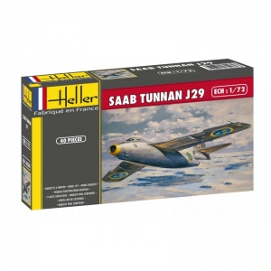 Heller 80260 SAAB Tunnan J29 1:72