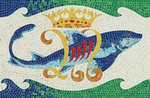 Aedes Ars 5504 Mozaika 320x210 mm - Delfin (Gaudi)