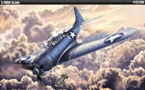 USN SBD-2 Battle of Midway 1:48