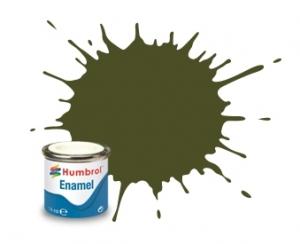 Humbrol AA1688 Farba olejna 155 Olive Drab - Matt (Humbrol 155)