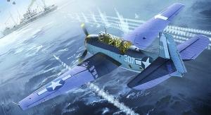 TBM-3 USS Bunker Hill 1:48