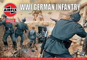 Airfix A00726V WW1 German Infantry - 1:76
