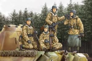 Hobby Boss 84404 Figurki - Niemieccy grenadierzy pancerni - 1:35