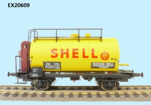 Exact-Train EX20609 Wagon cysterna 30m3 Uerdinger, Shell, DB, Ep. IIIb