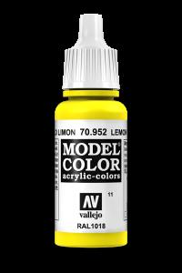Vallejo 70952 Model Color 70952 11 Lemon Yellow
