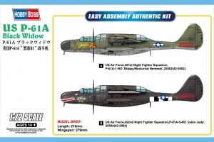 Hobby Boss 87261 US P-61A Black Widow - 1:72
