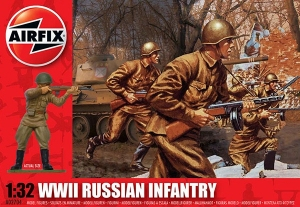 WWII Russian Infantry 1:32