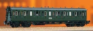 Wagon pasażerski Bh,C4b, DB, Ep. III