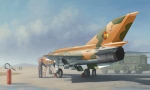 Trumpeter 02863 Mig-21 MF Fighter (polskie malowanie) - 1:48