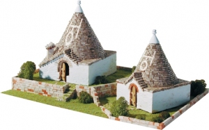 Budynki stożkowe z Puglii 1:80