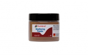 Humbrol AV0018 Pigment Weathering Powder 45 ml Light Rust