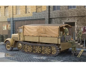 Trumpeter 01507 Sd.Kfz.7 Mittlere Zugkraftwagen 8t k11 Late Version