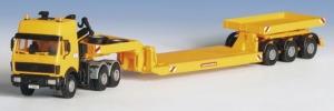 Kibri 13548 Ciągnik siodłowy Mercedes 2644S z naczepą Scheuerle