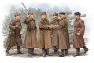 Trumpeter 00428 Figurki - Sowieccy artylerzyści - Inspekcja dowódcy - 1:35