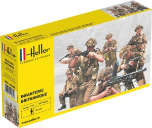 Heller 49604 Figurki - Piechota brytyjska - 1:72