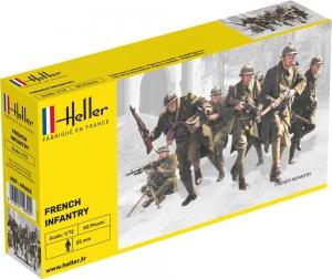 Heller 49602 Figurki - Piechota francuska - 1:72