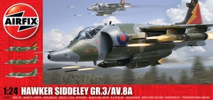 Hawker Siddeley Harrier GR3 1:24