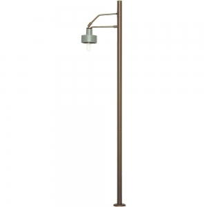 Viessmann 6065 Słup telegraficzny z lampą H0