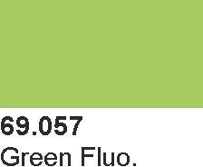 Mecha Color 69057 Green Fluorescent