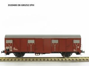 Exact-Train EX20400 Wagon towarowy kryty Glmms 252, DB, Ep. III