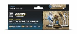 Vallejo 80252 Zestaw Wizkids Premium 8 farb - Protectors of Virtue