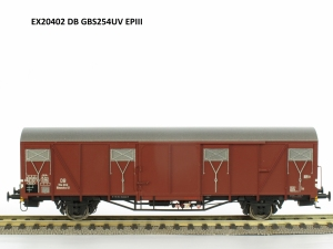 Exact-Train EX20402 Wagon towarowy kryty Glmmehs 61 uv, DB, Ep. III