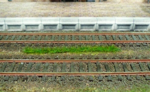 Heki 1813 Paski trawy ciemnozielonej 5-6 mm, 10 szt.