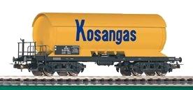 Wagon cysterna gazowa Kosangas, DSB, Ep. III