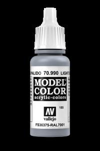 Vallejo 70990 Model Color 70990 155 Light Grey