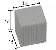 Kolumna sześcian 15 mm 50 szt.